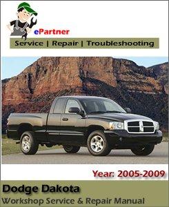 Dodge Dakota Service Repair Manual 2005-2009
