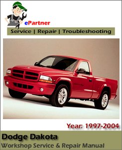 Dodge Dakota Service Repair Manual 1997-2004
