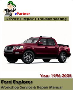 Ford Explorer Service Repair Manual 1996-2005