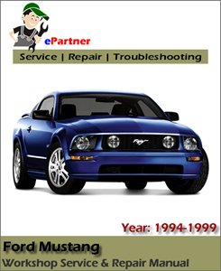 Ford Mustang Service Repair Manual 1994-1999