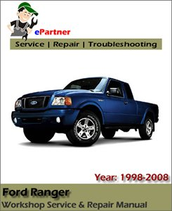 Ford Ranger Service Repair Manual 1999-2008