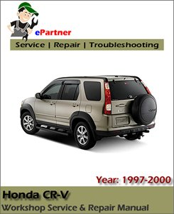Honda CRV CR-V Service Repair Manual 1997-2000