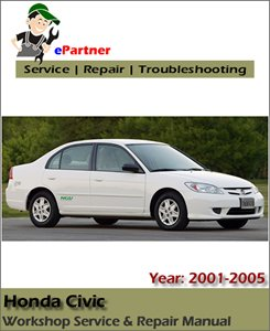 Honda Civic Service Repair Manual 2001-2005