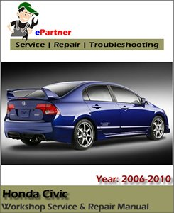 Honda Civic Service Repair Manual 2006-2010