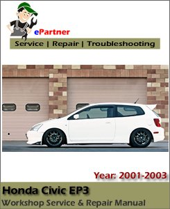 Honda Civic EP3 Service Repair Manual 2001-2003