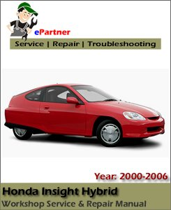 Honda Insight Hybrid Service Repair Manual 2000-2006