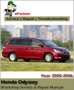 Honda Odyssey Service Repair Manual 2005-2006
