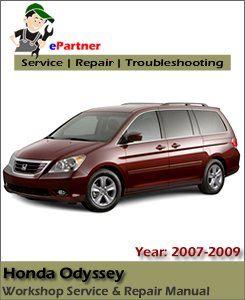 Honda Odyssey Service Repair Manual 2007-2009