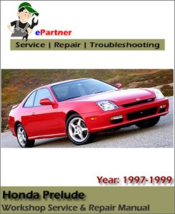 Honda Prelude Service Repair Manual 1997-1999
