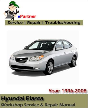 Hyundai Elantra Service Repair Manual 1996-2008