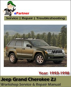 Jeep Grand Cherokee ZJ Service Repair Manual 1993-1998