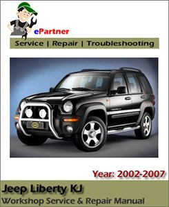 Jeep Liberty KJ Service Repair Manual 2002-2007