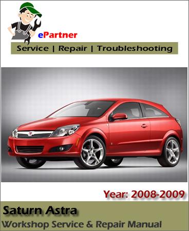 Saturn Astra PDF Workshop Repair Manuals on YouFixCars.com