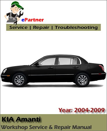 Kia Amanti Service Repair Manual 2004-2009