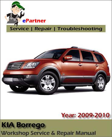 Kia Borrego Service Repair Manual 2008-2010
