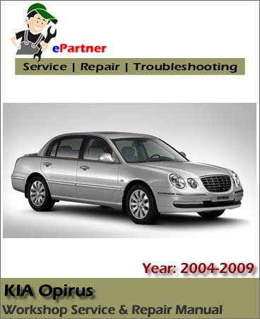 Kia Opirus Service Repair Manual 2004-2009