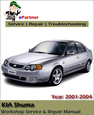 Kia Shuma Sephia Service Repair Manual 2001-2004
