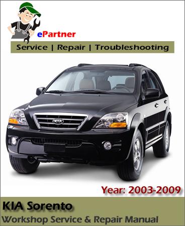 Kia Sorento Service Repair Manual 2003-2009