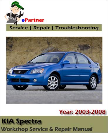 Kia Spectra Service Repair Manual 2003-2008