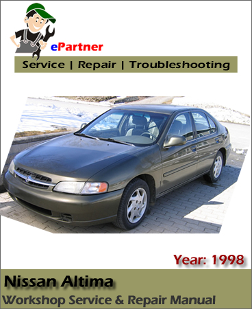 Nissan Altima L30 Service Repair Manual 1998 Automotive border=