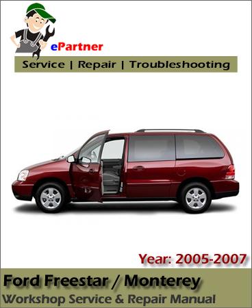 Ford Freestar Service Repair Manual 2005-2007