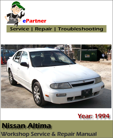 Nissan Altima U13 Service Repair Manual 1994
