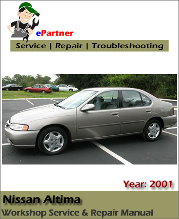 Nissan Altima L30 Service Repair Manual 2001