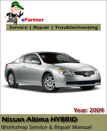 Nissan Altima Hybrid HL32 Service Repair Manual 2009