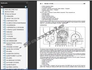 dodge journey service repair manual 2009 2010 automotive. Black Bedroom Furniture Sets. Home Design Ideas
