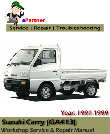 Suzuki Carry Service Repair Manual 1991-1999