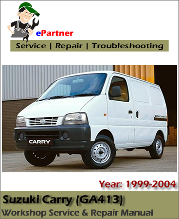 Suzuki Carry Service Repair Manual 1999-2004