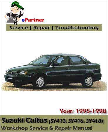 Suzuki Cultus Service Manual 1995-1998
