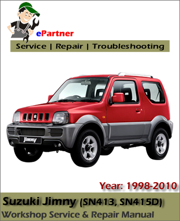 Suzuki       Jimny    Service Repair Manual 19982010   Automotive