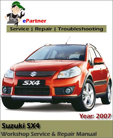 Suzuki SX4 Service Repair Manual 2006-2008