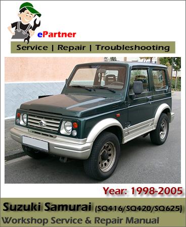 Suzuki Samurai Service Repair Manual 1998-2005