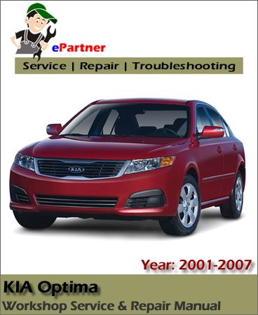 Kia Optima Service Reapir Manual 2001-2007