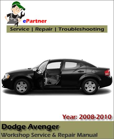 Dodge Avenger Service Repair Manual 2008-2009