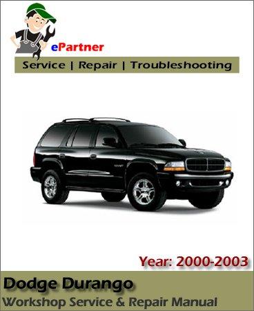 Dodge Durango Service Repair Manual 2000-2003