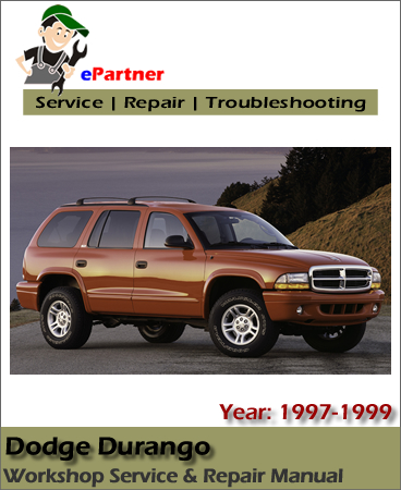 Dodge Durango Service Repair Manual 1997-1999