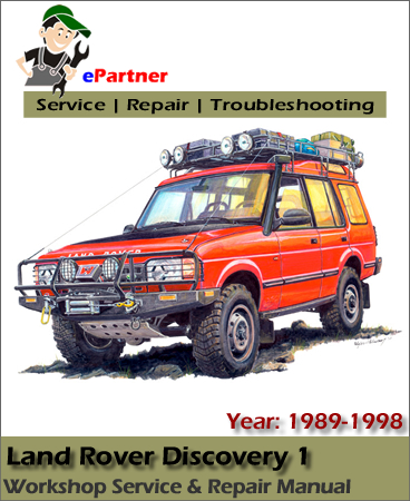 land rover discovery 1 service repair manual 1989 1998. Black Bedroom Furniture Sets. Home Design Ideas