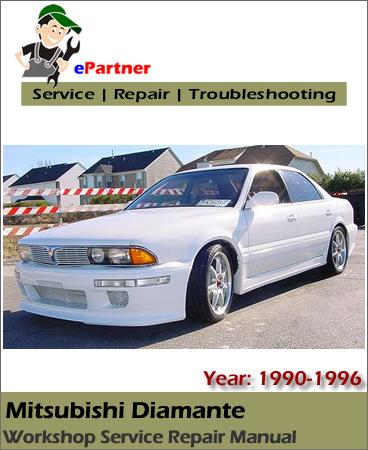 Mitsubishi Diamante Service Repair Manual 1990-1996