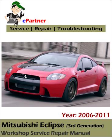 Mitsubishi Eclipse Service Repair Manual 2006-2011