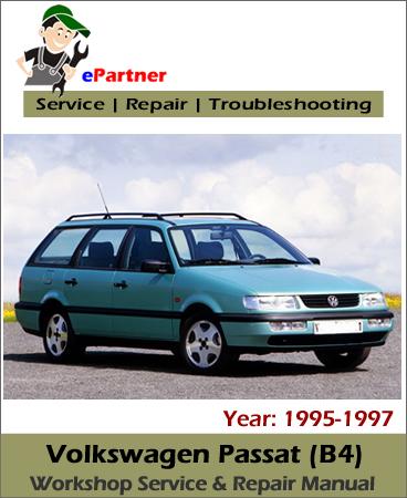 Volkswagen Passat B4 Service Repair Manual 1995-1997