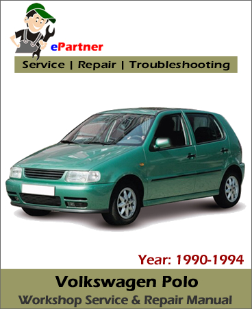Volkswagen Polo Service Repair Manual 1990-1994