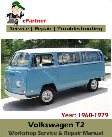 Volkswagen T2 Service Repair Manual 1968-1979
