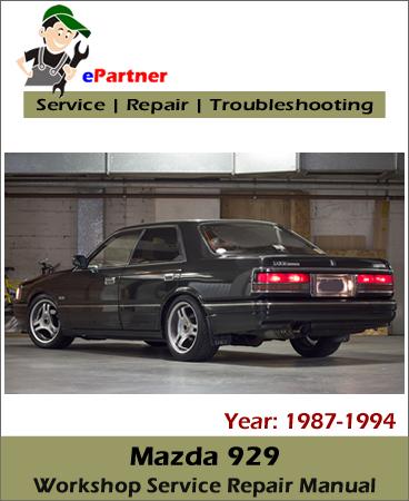 Mazda 929 Service Repair Manual 1987-1994