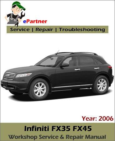 Infiniti FX35 FX45 (S50) Service Repair Manual 2006
