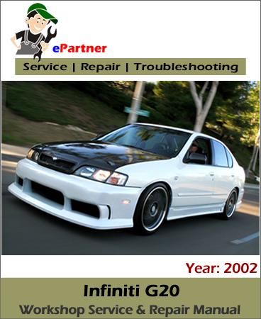 Infiniti G20 (P11) Service Repair Manual 2002