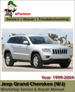 jeep grand cherokee wj service repair manual 1999 2004. Black Bedroom Furniture Sets. Home Design Ideas