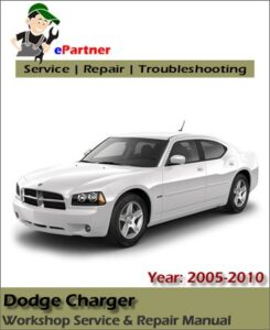 Dodge Charger Service Repair Manual 2005 2010 Automotive